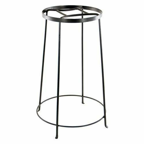 Achla Designs FB-33 Argyle IV Wrought Iron Plant Stand 24-inch H Graphite