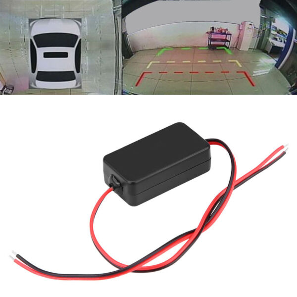 DC 12V Car Rearview Camera Power Relay Capacitor Filter Wholesale Rectifier LJ4