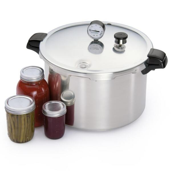 Presto 23-Quart Pressure Canner And Cooker Pot Kitchen Appliance