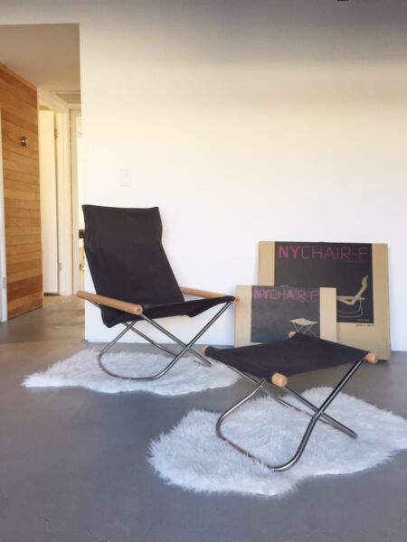 Takeshi Nii - NY Rocking Chair and Ottoman - MINT condition Original Boxes! DWR