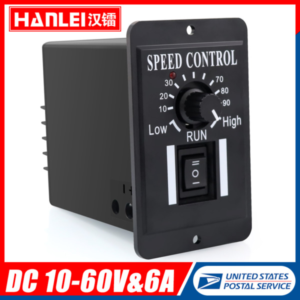 DC 10 60V 6A PWM DC Motor Speed Controller Reversible Switch Regulator Switch $9.89