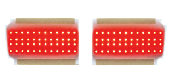Pair LED Tail Light Inserts for 1970 Chevelle
