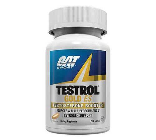 GAT TESTROL GOLD ES Testosterone Booster Muscle & Male Performance 60 tabs