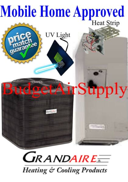 2 ton 14 SEER HEAT PUMP ICP Grandaire MOBILE HOME APPROVED Split System UVHeat $1925.00