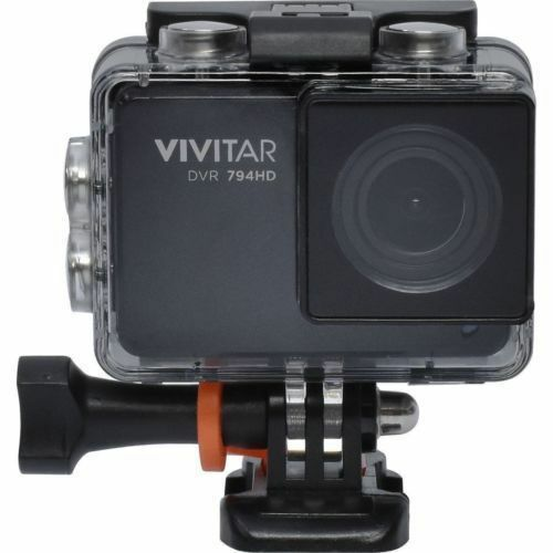 Vivitar 14MP Sports WiFi Action Cam Waterproof (DVR794HD)™ - Camera ONLY