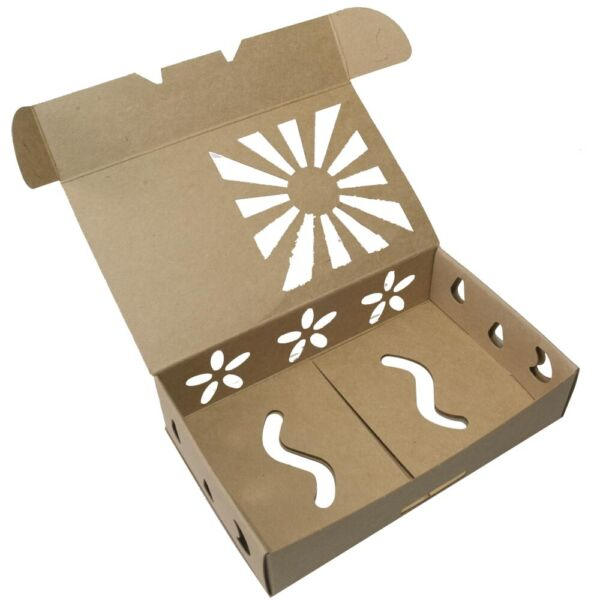 Biodegradable Recyclable Sustainable Organic Produce Soap Box Container