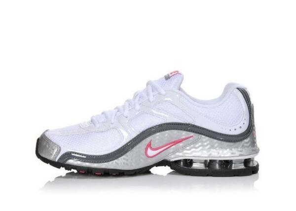 407987 116 NIKE REAX RUN 5 Women's Shoes WhitePink Pick Size NEW IN BOX