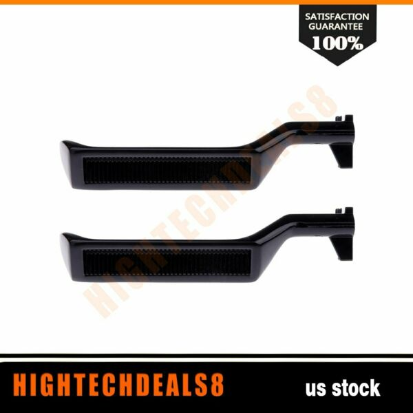 Door Handles Metal Inside Driver Hand Set of 2 for Ford Bronco F150 F250 F350