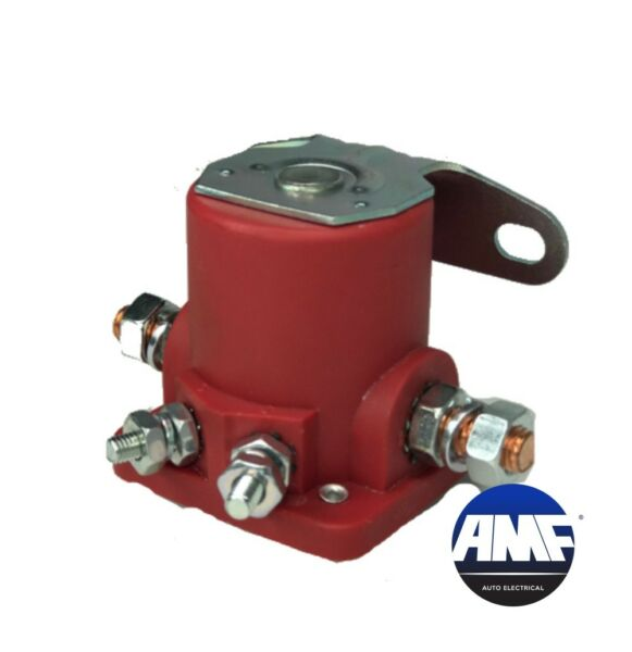 New Starter Car Truck Solenoid Relay For Ford 12V Heavyduty Sw3 - Red