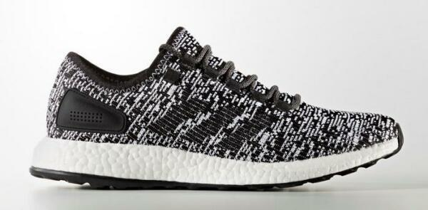 NEW MENS ADIDAS PURE BOOST SNEAKERS S81995-SHOES-SIZE 8
