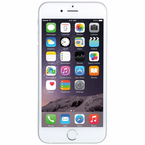 Apple iPhone 6 -16GB - Silver - (Factory Unlocked AT&T / T-Mobile / Metro PCS)
