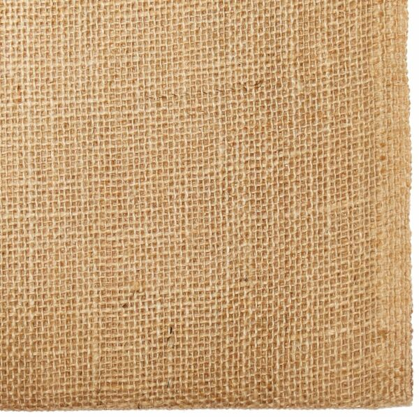 Afula Heavyweight 10 oz Jute Burlap Fabric Sheet 40quot; x 5 yd Factory 2nd