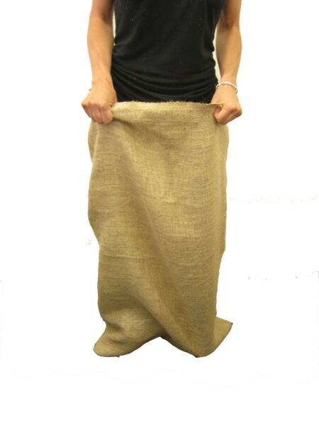 1 24quot;x40quot; LARGE BURLAP SACKS BAGS Potato Sack Race Bags Sandbags Gunny Sack