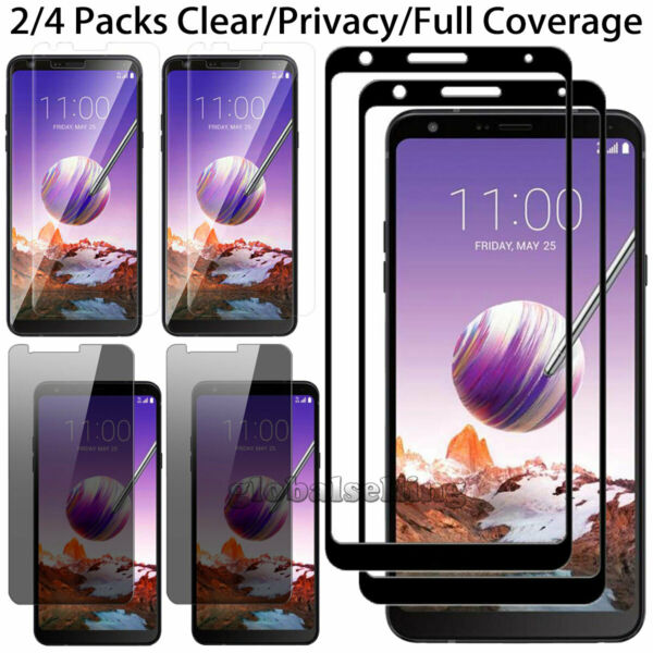 Premium Tempered Glass Screen Protector Film For LG Stylo 2 3 4 /Stylus 3 4 Plus