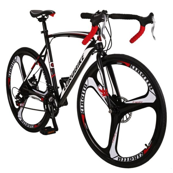 Road Bike Shimano Disc Brake Bicyle Men#x27;s Bikes Cycling 54cm 700C 3 Styles $329.00