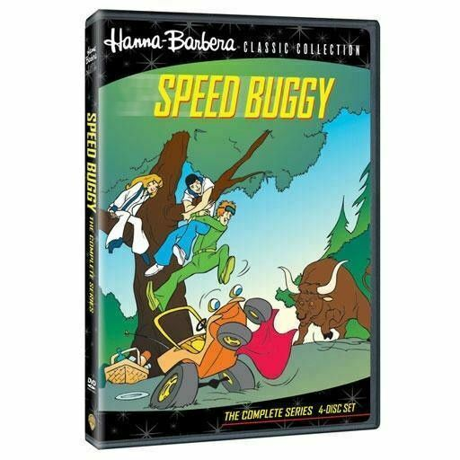 Speed Buggy - The Complete Series 4 Disc DVD Set