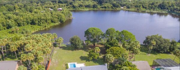 HUGE 11.82 Acre Property: Lake Ownership & Access Near Cape Canaveral, Florida!