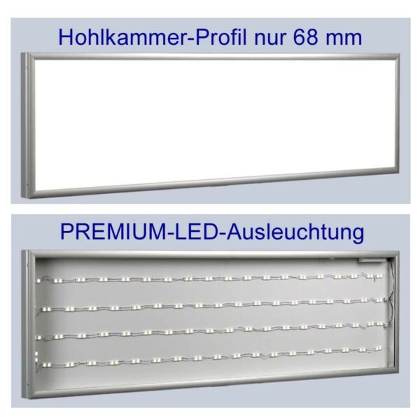 Premium - Flat Light LED Lightbox 196 2732x15 34x2 1116in Licht-Reklame