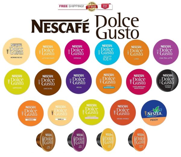 Nescafe Dolce Gusto Capsules YOU PICK THE FLAVOR & SIZE