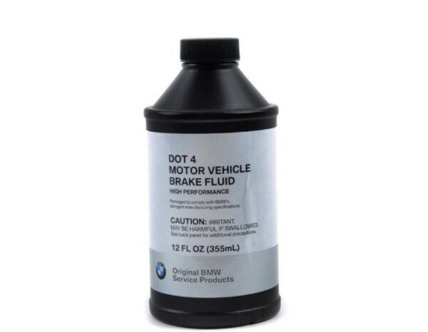 3 Bottles BMW Mini Brake Fluid Dot 4, 12oz Bottles 81220142156 Each Order 3x