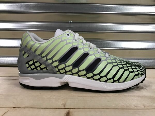 NEW MENS ADIDAS ZX FLUX SNEAKERS AQ4535-SHOES-SIZE 11