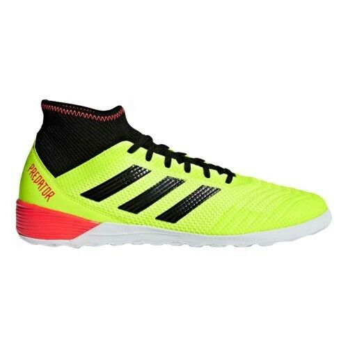 Adidas Men's Predator Tango 18.3 IN Indoor Soccer Shoes Yellow - DB2126