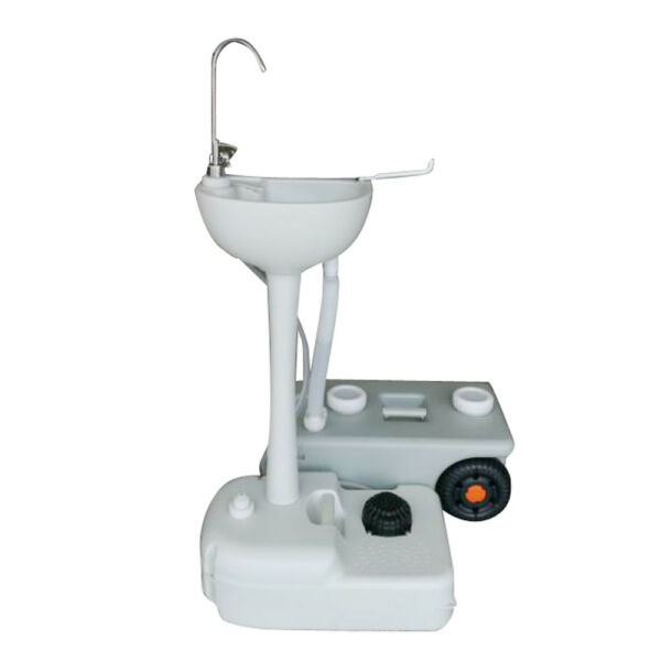 Outdoor Portable Hand Washing Sink Faucet Station wGarden Pipe Joint
