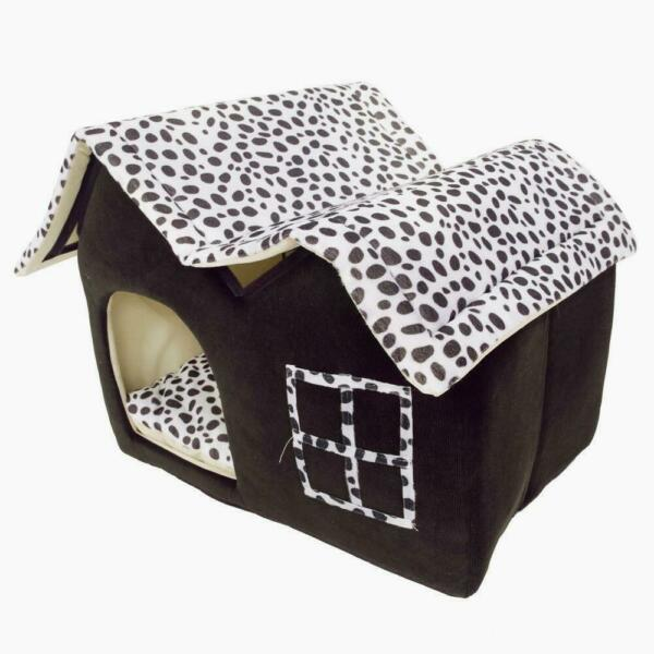 New Pet Dog Soft Bed M House Puppy Washable Kennel Mat Pad M Style Supplies Cat $20.59