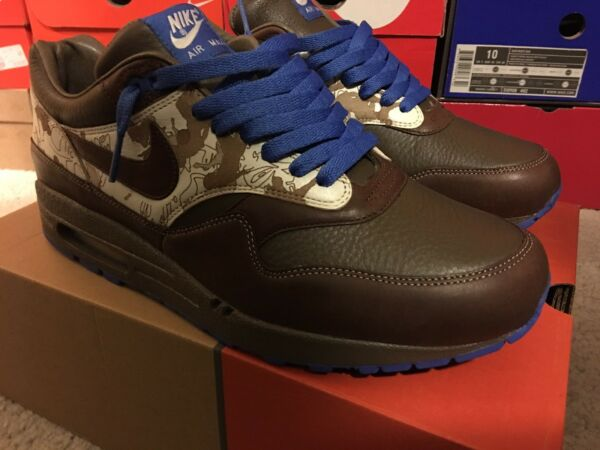 DS Nike Air Max 1 Torques Pack aka Soccer Pack men's US size 10 atmos