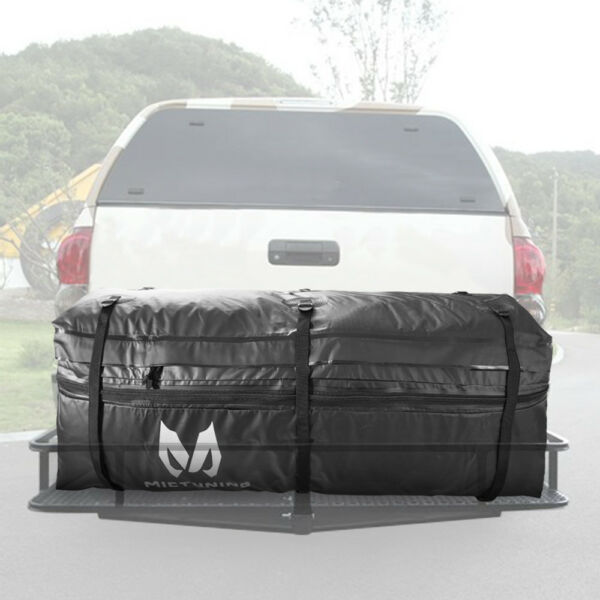 MICTUNING Cargo Bag Rainproof Expandable Hitch Tray Carrier for Car Truck SUV $89.99