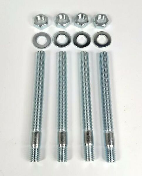 3quot; Carburetor Mounting Kit Carb Studs Fits Holley Edelbrock Chevy Ford $7.29