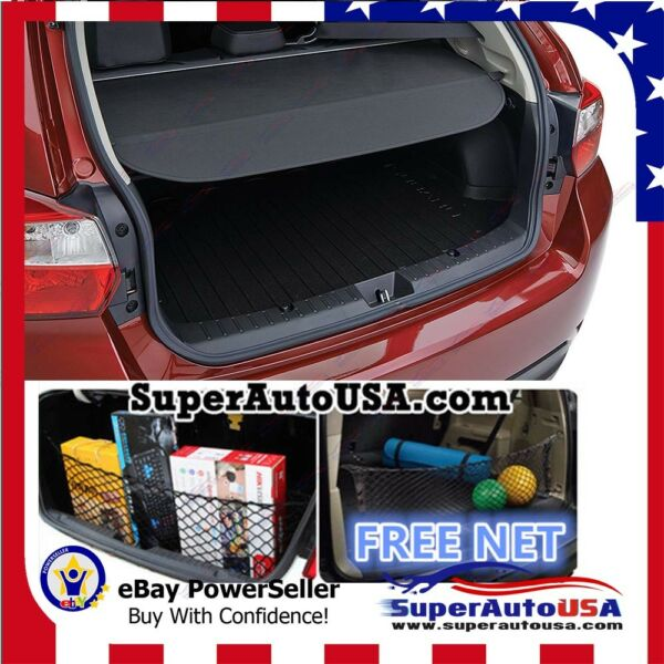 Rear Trunk Tailgate Retractable Cargo Cover Luggage For 2015-2019 Subaru Outback