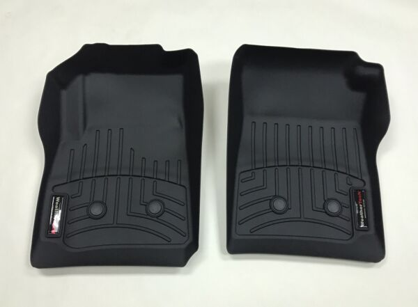 WeatherTech Custom Car/Truck Floor Mat FloorLiner - 447511 - 1st Row - Black