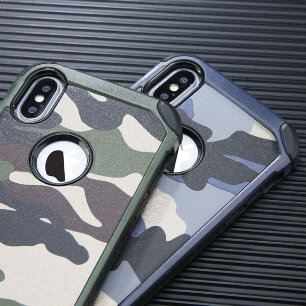 Camouflage For iPhone X XS Max XR 11 Pro Military Case Camo Army Rugged Case $7.99