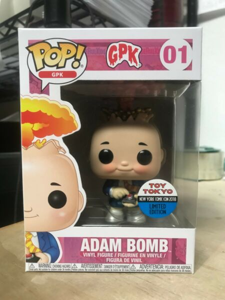FUNKO POP ADAM BOMB GARBAGE PAIL KIDS LE TOY TOKYO 2018 NYCC EXCLUSIVE IN HAND