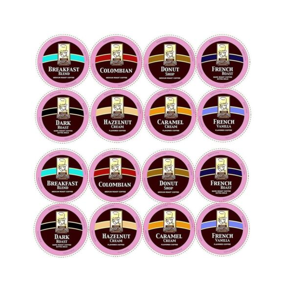 100ct Variety Pack for Keurig K-cups 8 Assorted Single Cup Sampler 20% more ...