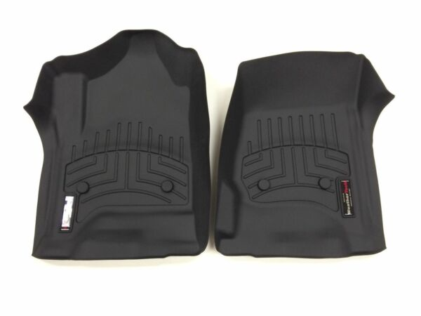 WeatherTech Custom Car/Truck Floor Mat FloorLiner - 446071- 1st Row - Black
