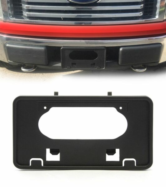 For 2009-2014 Ford F150 Front Bumper License Plate Holder Frame Mounting Bracket