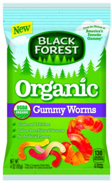 Black Forest Ferrara Gummy Worms Candy Case 4oz (PACK OF 12)