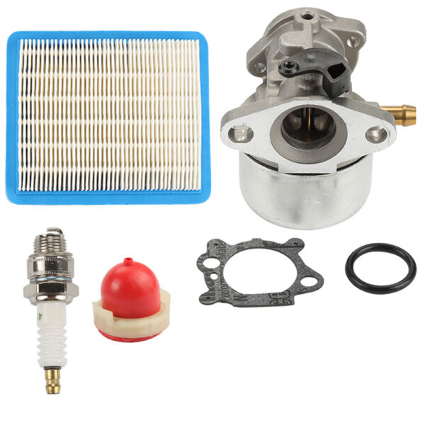 Carburetor for 6.0 Briggsamp;Stratton quantum Carb air filter primer bulb kit $12.90
