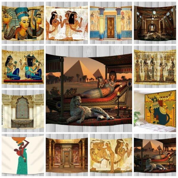 Ancient Egyptian Tapestry India Wall Hanging Wall Tapestry Throw Home Dorm Decor
