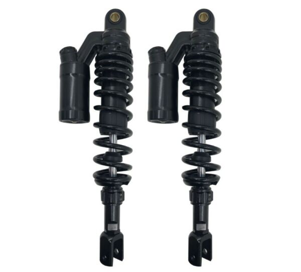 340mm 13inch Clevis Motorcycle Air Scooter Rear Shock Absorbers Fit Honda Suzuki