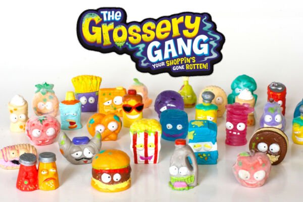 NEW Lot of 12pcs Random The Grossery Gang Kids Toys NO DUPLICATES SHIP FROM USA $16.99