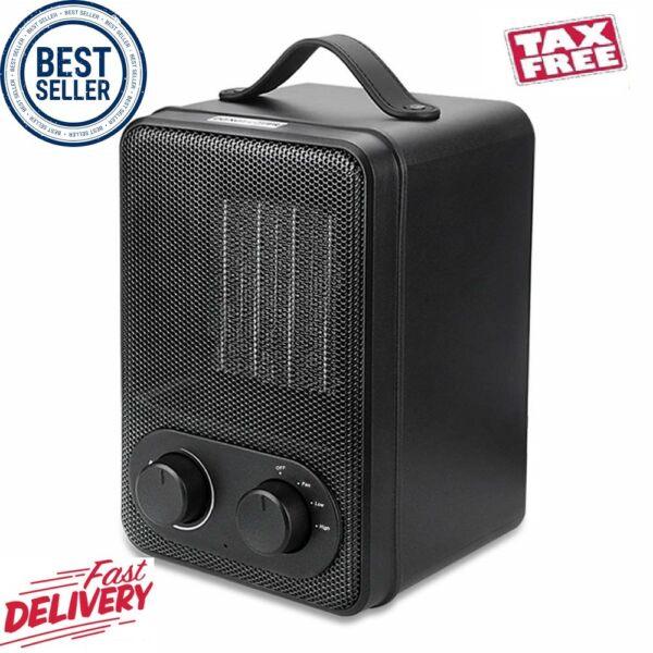 iBazal Small Space Heater Indoor Personal Portable Heater 1500W Mini Electric $28.55
