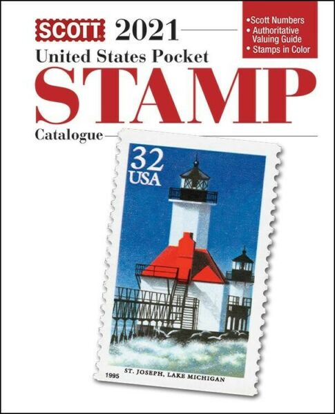 New 2021 Scott United States US Pocket Stamp Catalogue Catalog Guide Price Book