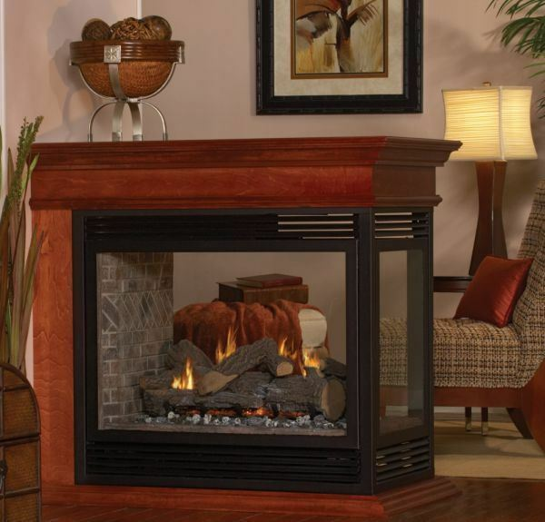 Tahoe DV See-Through Premium 36 Fireplace with Barrier Screen NG