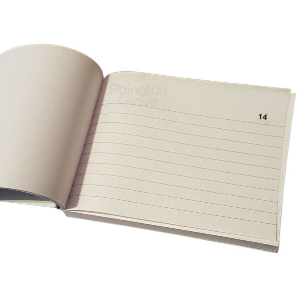 Duplicate Book with 100 Numbered Lined Pages Carbon Sheet Receipt Invoice Copy GBP 2.59