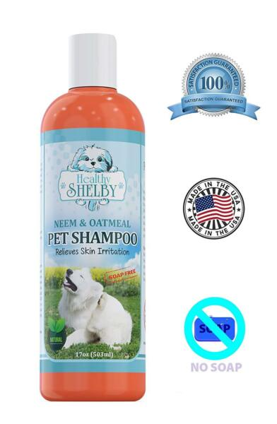 Neem & Oatmeal Pet Shampoo and Conditioner In One Best Shampoo For Itchy Skin