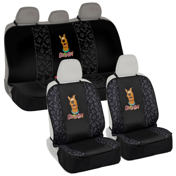 Pet Seat Cover Universal Waterproof Set for Front amp; Rear Car SUV Van Scooby Doo $39.50