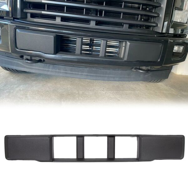 NEW Front Bumper Cover Lower Grille Trim Panel For 15-17 Ford F-150 FL3Z17E810CA